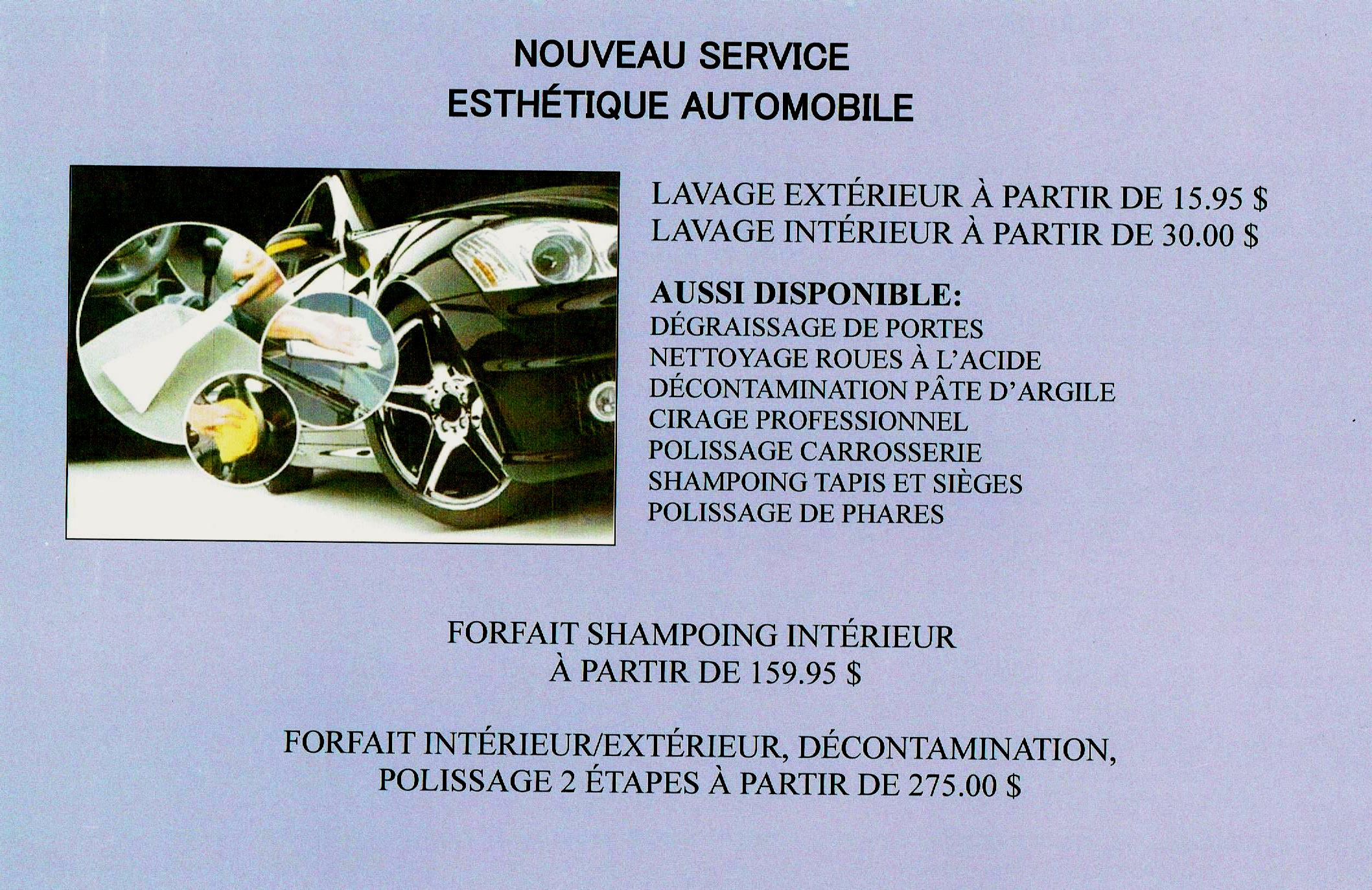annonce nouveau service esthétique automobile 001